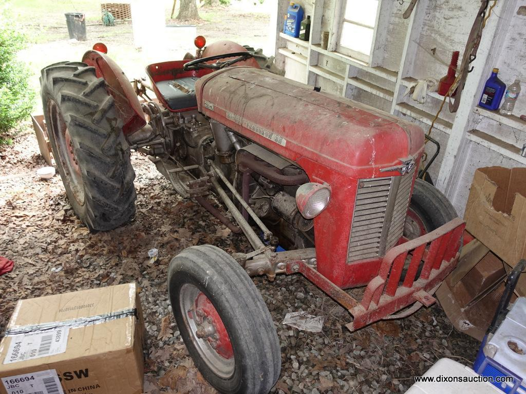 Lot: (OUT) TRACTOR