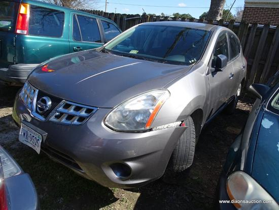 2011 NISSAN ROGUE; VIN JN8AS5MV9BW683287.THIS CAR HAS A BAD TRANSMISSION AND WAS ABANDONED AT A