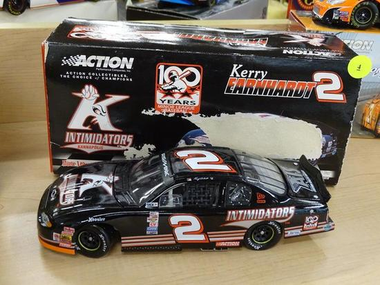 (R1) NASCAR 1:24 SCALE COLLECTIBLE DIECAST STOCK CAR; KERRY EARNHARDT #2 KANNAPOLIS INTIMIDATORS