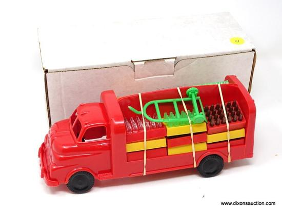 1960/70S MARX TOYS SEALED MARXIE COLA TRUCK. RED. NEW IN BOX. MEASURES 10.5 IN X 4.5 IN X 4 IN.