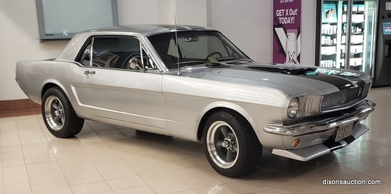 1966 Mustang Coupe Online Auction