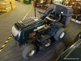 BOLENS LAWN TRACTOR; DARK GREEN IN COLOR BOLENS BY MTD 15.5 HP LAWN TRACTOR. 38 IN CUT, 6 SPEED