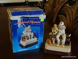 NORMAN ROCKWELL MUSICAL FIGURINE;