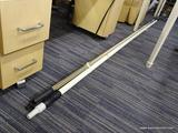 LOT OF ASSORTED POLES; LOT INCLUDES 3 TELESCOPIC POLES. THESE POLES COULD BE USED FOR PAINTING OR