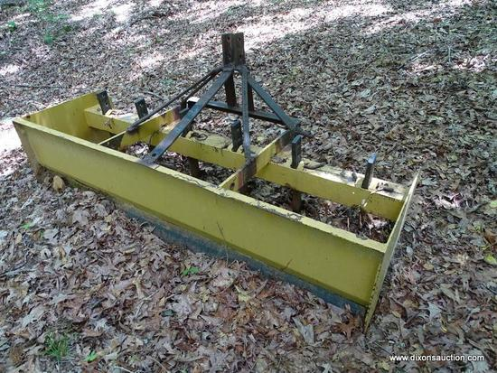 BOX BLADE; KING KUTTER 6 FT. BOX BLADE WITH 3 PT. HITCH
