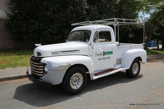 1949 FORD F1 PICKUP TRUCK  THIS 1949 FORD F-1 PICKUP TRUCK