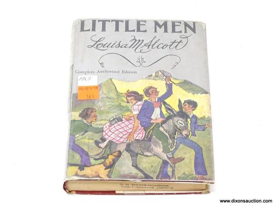 (SC) ANTIQUE BOOK; LITTLE MEN BY LOUISA MAY ALCOTT (1913). IS IN EXCELLENT CONDITION WITH ORIGINAL