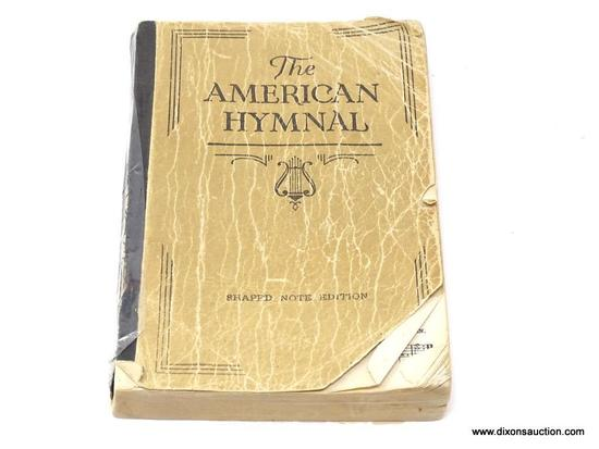 (SC) VINTAGE BOOK; THE AMERICAN HYMNAL (1931). IS IN GOOD CONDITION AND IN A PROTECTIVE PLASTIC