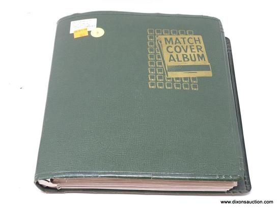 (SC) MATCH COVER ALBUM; INCLUDES APPROXIMATELY 50 PAGES OF VINTAGE ARIZONA MATCHBOOKS. INCLUDES