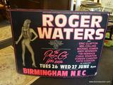 HARVEY GOLDSMITH ENTERTAINMENT ADVERTISING SIGN; ROGER WATERS, ERIC CLAPTON, MEL COLLINS, MICHAEL