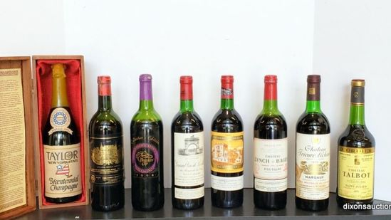 6/19/19 Collectible Wine & Spirits Online Auction.