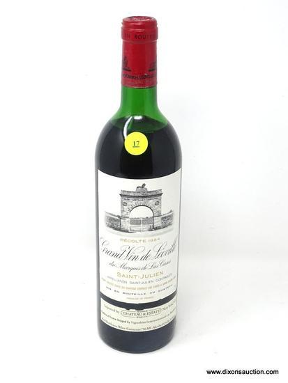 1996 GRAND VIN DE LEOVILLE DU MARQUIS DE LA CASES SAINT-JULIEN; THIS RED BORDEAUX WINE OFFERS