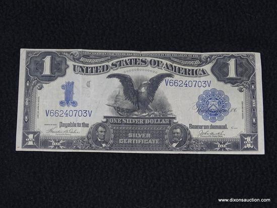 $1 - 1899 BLACK EAGLE SILVER CERTIFICATE;