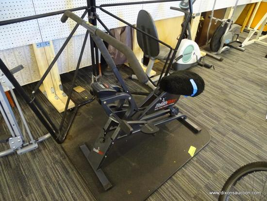 HEALTHRIDER EXERCISE MACHINE; MADE IN THE USA AND IN EXCELLENT CONDITION! HAS A DIGITAL DISPLAY.