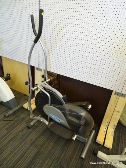 "THANE FITNESS ORBITREK PLATINUM ELLIPTICAL; IS IN GOOD WORKING CONDITION. MEASURES 24"" X 40"" X 58"""