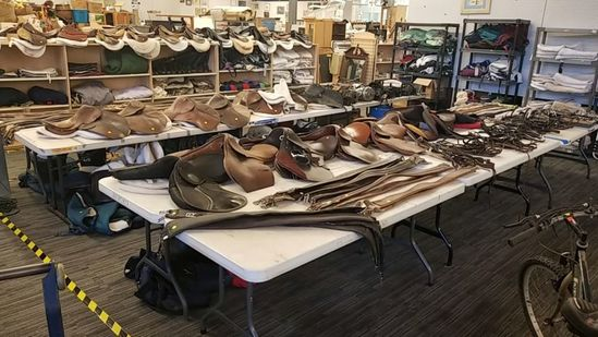 6/28/19 Online Equestrian Equipment Auction.