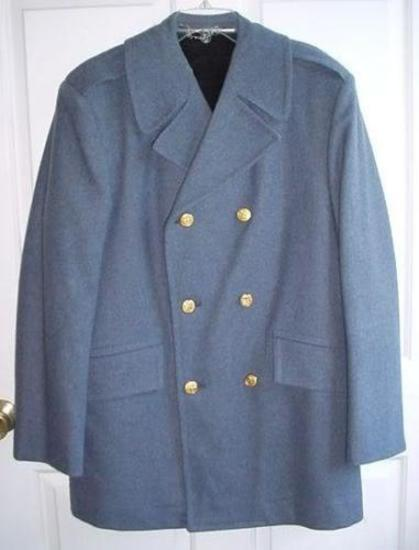 The Citadel Cadet Corps Heavy Overcoat with Gold South Carolina Buttons This size 38 Regular,