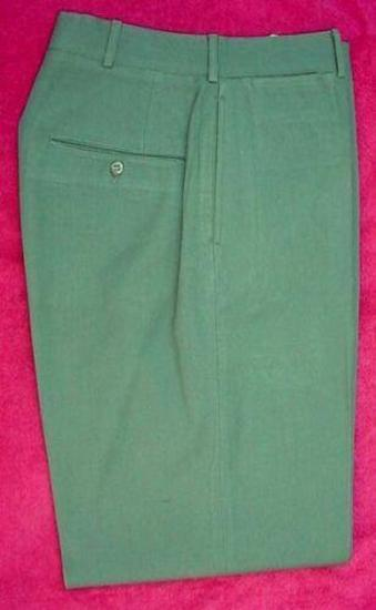 Nice clean pair of pre-owned US ARMY Army Green wool serge trousers. These are the first production