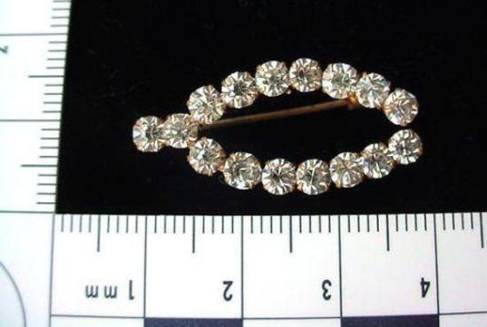 ANTIQUE RHINESTONE WISHBONE PIN BROOCH PRETTY Very pretty antique rhinestone Wishbone pin brooch.