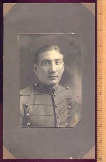 1920 era CADET PHOTOGRAPH ST. JOHNS MILITARY ACADEMY Nice circa 1920s photograph of a military Cadet