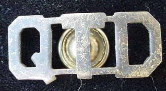 WWI AEF Era COLLAR BRASS QTD SCREW BACK WORLD WAR ONE Picked this up recently at a Richmond,