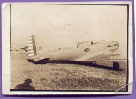 WWII Photograph 33rd Pursuit Sq. P-30 PB2 Aircraft Langley Field Interesting and rare Pre-WWII era