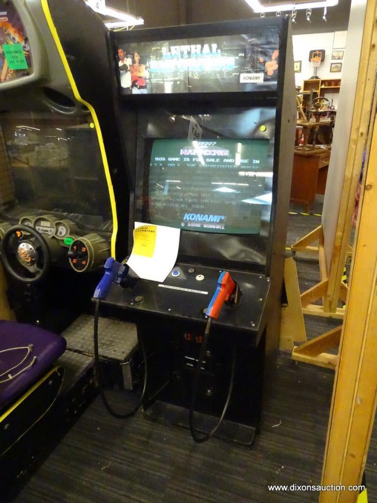 7/26/19 Online Video Game Arcade Auction.