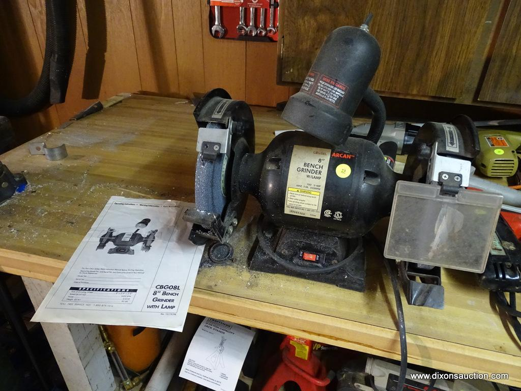 Cool Bench Grinder Arcan 8 In Grinder In Good Used Condition Andrewgaddart Wooden Chair Designs For Living Room Andrewgaddartcom
