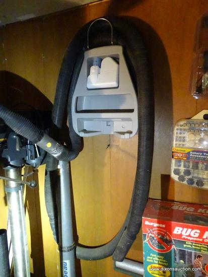 SHOP VAC HOSE; BLACK HOSE FOR USE WITH A SHOP VAC OR OTHER SHOP STYLE VACUUM CLEANERS.