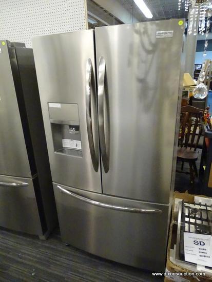 Frigidaire Gallery 26.8-cu ft 3-Door Standard-Depth French Door Refrigerator with Dual Ice Maker
