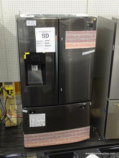 Samsung 24.6-cu ft 3-Door Standard-Depth French Door Refrigerator