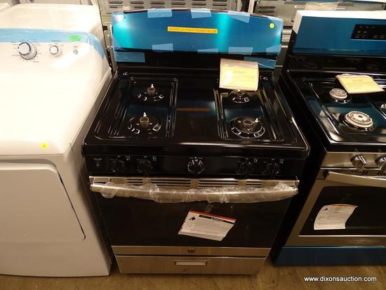 GE 4.8-cu ft Freestanding Gas Range (Stainless Steel) (Common: 30-in;Actual: 30-in)