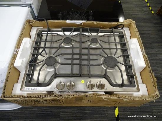 Frigidaire Gallery 30-in Stainless Steel Gas Cooktop (Common: 30-in; Actual: 30-in)