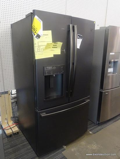 GE 27.8-cu ft 3-Door Standard-Depth French Door Refrigerator