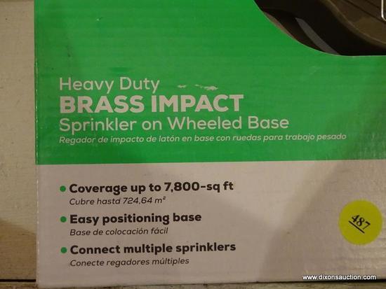 Orbit 56357 7,800-sq ft Impulse Sled Lawn Sprinkler