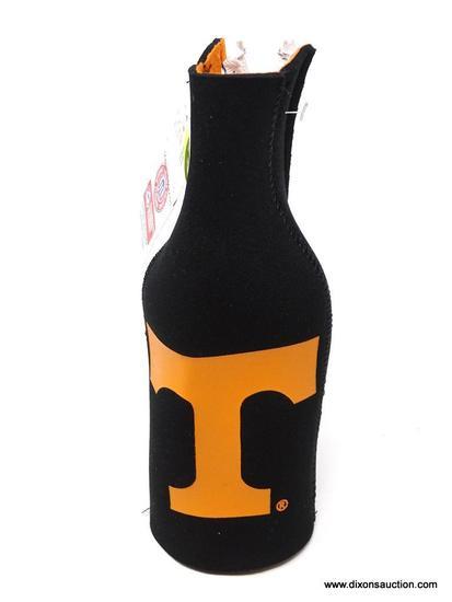 UNIVERSITY OF TENNESSEE BEER KOOZIE; UNIVERSITY OF TENNESSEE BLACK BEER KOOZIE. BRAND NEW.