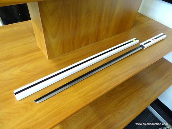 UCHIHA GRASS CUTTER SWORD; AVIAS KNIFE SUPPLY UCHIHA SASUKE KUSANAGI SWORD GRASS CUTTER SWORD (WHITE