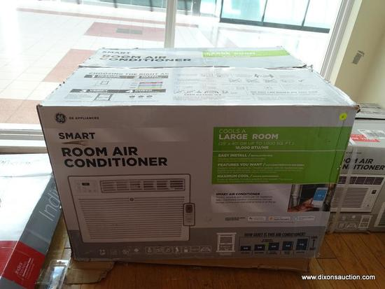 GE SMART ROOM LARGE AIR CONDITIONER. BOX IS OPENED ITEM IS NEW, MODEL AHC18DYL 1.