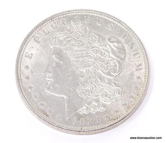 1921-P MORGAN SILVER DOLLAR. BEAUTIFUL CONDITION!