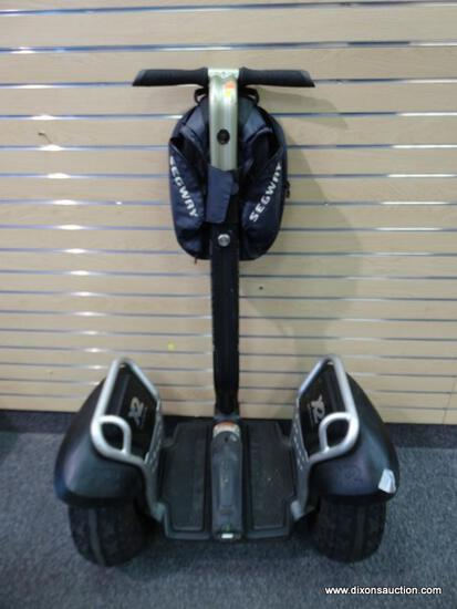 SEGWAY X2 PERSONAL TRANSPORTER; BLACK COLORED, X2 MODEL IS FOR OFF-ROAD USE AND CAN TRAVEL UP TO 12