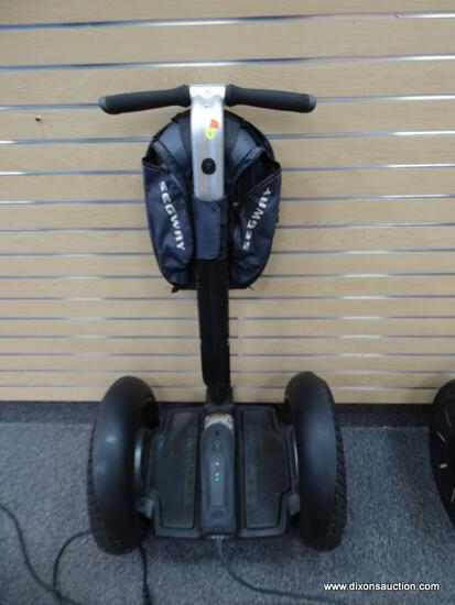 SEGWAY X2 PERSONAL TRANSPORTER; BLACK COLORED, X2 MODEL IS FOR SIDEWALKS AND CAN TRAVEL UP TO 12