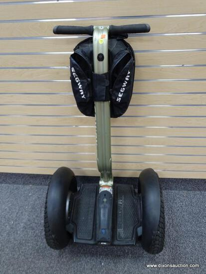 SEGWAY I2 PERSONAL TRANSPORTER; SAGE COLORED, I2 MODEL IS FOR SIDEWALKS AND CAN TRAVEL UP TO 24