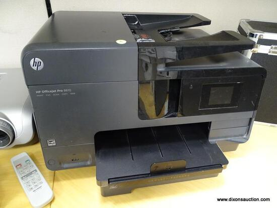 (OFC2) BLACK HP OFFICE JET PRO 8610 PRINT, COPY, SCAN FAX, WEB. COMES WITH USER MANUAL. USED.