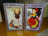 (DOLLRM) PAIR OF EFANBEE DOLLS; 2 PIECE LOT OF EFANBEE DOLLS TO INCLUDE A GERMANY DOLL (ITEM NO.