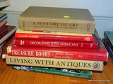 (FMR) BOOK LOT; MISCELL. LOT OF BOOKS TO INCLUDE-A HISTORY OF ART, DECORATINS WITH AMERICANA,
