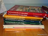 (FMR) BOOK LOT; LOT INCLUDES- 7 VOL. OF THE ENCYCLOPEDIA OF COLLECTIBLES AND INCLUDES 3 ANTIQUES
