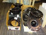 (RWALL) LOT OF OATEY FLANGE RINGS; LOT TO INCLUDE [6] 3
