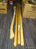 (RWALL) LOT OF WOODEN HANDLES; 4 PIECE LOT TO INCLUDE [3] 48