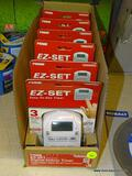 (BWALL) LOT OF [6] PRIME EZ-SET EASY-TO-USE TIMERS WITH 3 EZ-SET OPTIONS AND 2 SOCKETS. COMES IN