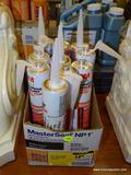 (R1) LOT OF 3M MARINE ADHESIVE SEALANT FAST CURE 5200 SANDED CAULK TUBES - WHITE COLORED, 10 FL OZ